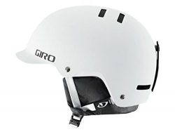 Giro Surface-S Snow Helmet (Matte White, Large)