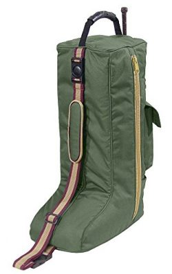 Derby Originals Padded 3 Layers English Tall Boots Carry Bags, Hunter Green