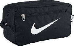 Nike Nike Men'S Brasilia 6 Shoe Bag – Black/Black/White, One Size