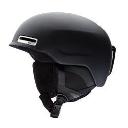 Smith Optics Maze – Asian Fit Adult Ski Snowmobile Helmet – Matte Black / Medium