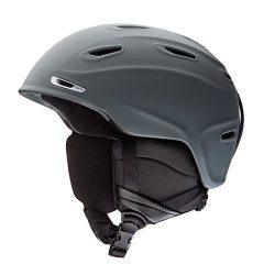 Smith Optics Adult Aspect MIPS Ski Snowmobile Helmet – Matte Charcoal / Medium