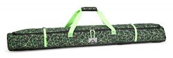 High Sierra Deluxe Single Ski Bag, Digital Web/Black/Lime