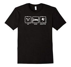 Eat sleep freestyle ski skiing skier snow sports t-shirt