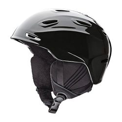 Smith Optics Arrival Adult Ski Snowmobile Helmet – Black Pearl / Large