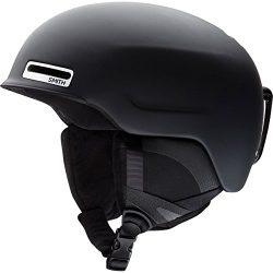 Smith Optics Maze – Asian Fit Adult Ski Snowmobile Helmet – Matte Black / Large