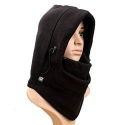 Sealike Winter 6 in 1 Warm Fleece Balaclava Hood Ski Bike Cycling Wind Stopper Mask Cover Cap Fl ...