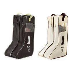 Daixers Portable Tall Boots Storage/Protector Bag,Boots Cover 2 Pack