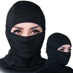 Balaclava – Windproof Ski Mask – Cold Weather Face Mask Motorcycle Neck Warmer or Ta ...