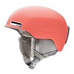 Smith Optics Adult Allure Ski Snowmobile Helmet – Matte Sunburst / Large