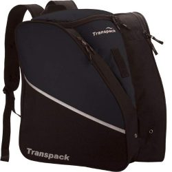 TRANSPACK Edge Junior Ski Boot Bag, BLACK