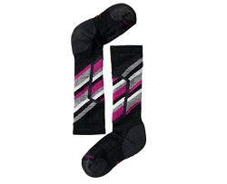 SmartWool Kid's Ski Racer Socks (Charcoal) X-Small