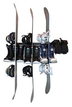 Wall Mount Organizer Rack With 8 Hooks | Heavy Duty, Durable, Sturdy, Mountable & Multipurpo ...