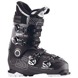 Salomon X-Pro 100 Ski Boots 2018-33.5/Black-Anthracite-Light Grey