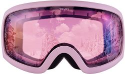 Traverse Varia Ski, Snowboard, and Snowmobile Goggles, Dusk with Rose Lens