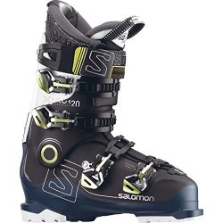 Salomon X Pro 120 Ski Boot Black/Petrol Blue/White, 30.5