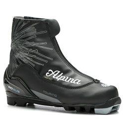 Alpina Eve T 20 Womens NNN Cross Country Ski Boots – 39/Black