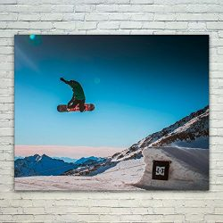 Westlake – Poster Print Wall – Ski Powder – Modern Picture Photography Home De ...