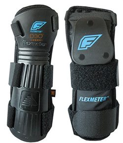 Demon Snow Flexmeter Wrist Guard – Double Black, S