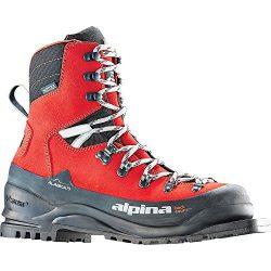 Alpina Sports Alaska 75 Leather 3 Pin 75 mm Backcountry Cross Country Nordic Ski Boots, Euro 39, ...