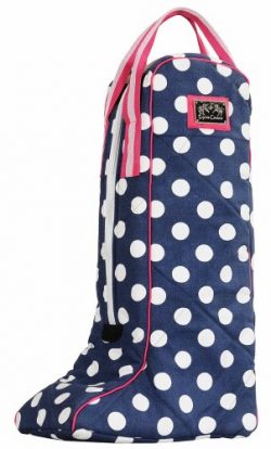 Equine Couture Emma Boot Bag, Hot Pink, Standard