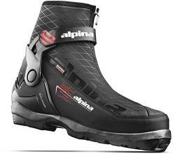 Alpina Sports Outlander Backcountry Ski Boots, Black/Orange/White, Euro 45