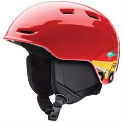 Smith Optics Youth Zoom Jr Ski Snowmobile Helmet – Fire Transportation / Youth Medium