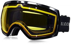 Electric Visual EG2.5 Gloss Black/Yellow Blue Chrome Snow Goggle