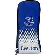 Everton Official Football Team Boot Shoe Zip Bag With Handle