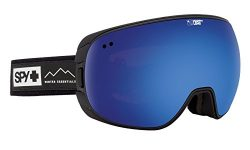 SPY Optic Doom Essential Black Snow Goggles | Wide Field of View Ski, Snowboard or Snowmobile Go ...