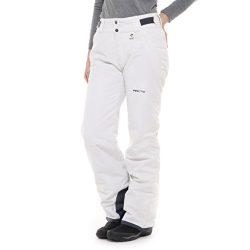 Arctix Women's Insulated Snow Pant, White, Medium/Regular