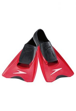 Speedo Switchblade Fin, Black/Red, Large