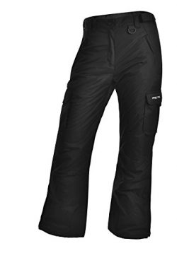 Arctix Women's Snowsport Cargo Pants, Small, Black