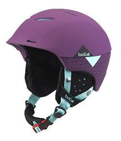 Bolle Synergy Soft Helmet, Purple/Mint, 54-58cm