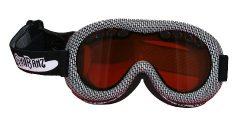 Baby Banz Ski Banz Goggles, Black/White