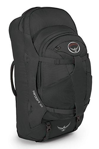 Osprey Packs 10000289 Farpoint 55 Travel Backpack, Volcanic Grey, Medium/Large
