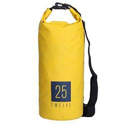 25Twelve Waterproof Dry Bags – Dry Bag for Kayak Accessories Camera Jet Ski Fishing Sailin ...