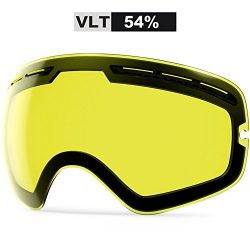 Homto Ski Goggles Replacement Night Vision Lens