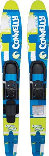 Connelly Skis Super Sport Waterski Pair with Slide Adjustable Bindings