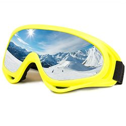 Ski Goggles Snowboard Adjustable UV Protective Motorcycle Goggles Outdoor Tactical Glasses Dust- ...