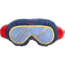 Ed Ellen Degeneres Holiday Ski Goggles Dog Toy – Plush, Squeaker