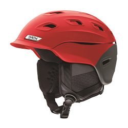 Smith Optics Vantage Adult Mips Ski Snowmobile Helmet – Matte Fire Split/Large