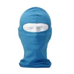 New Ultra Thin SKi Bike Football Helmet Reflective CS Face Mask Sports Balaclava – Blue