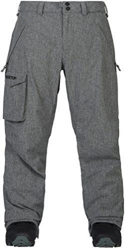 Burton Men's Covert Pant Insulated, Bog Heather, Medium
