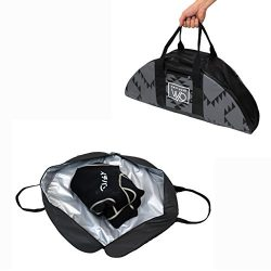 Wetsuit Changing Mat Bag & Surf Accessory – Full Zipper Closure with Soft Padded Botto ...