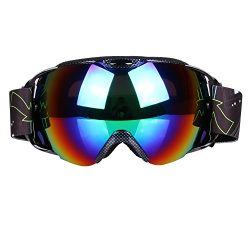 VILISUN Ski Goggles, Outdoor Snowboard Snowmobile Goggles for Men & Women, Anti-slip Adjusta ...