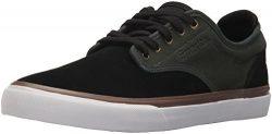 Emerica Men's Wino G6 Skate Shoe, Black/Green, 10.5 Medium US