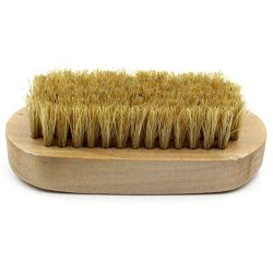 OUNONA Shoe Shine Brush,Soft Horsehair Bristles for Shoes Polishing Buffing Cleaning Dusting Bru ...