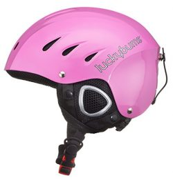 Lucky Bums Snow Sport Helmet with Fleece Liner, Pink, Small