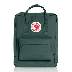 Fjallraven Kanken Classic Pack, Heritage and Responsibility Since 1960, Forest Green