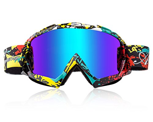 Basecamp Snow Skiing Snowboarding Goggles Unisex Motocross